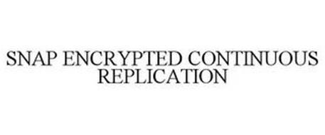 SNAP ENCRYPTED CONTINUOUS REPLICATION