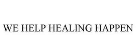 WE HELP HEALING HAPPEN
