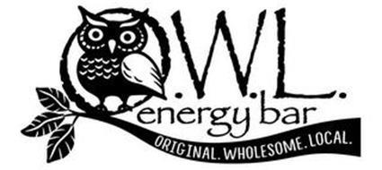 O.W.L. ENERGY BAR ORIGINAL. WHOLESOME. LOCAL.