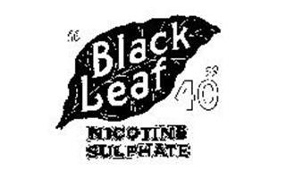 """""""BLACK LEAF 40"""" NICOTINE SULPHATE"""