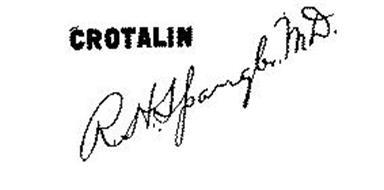 CROTALIN R. H. SPANGLER, M.D.
