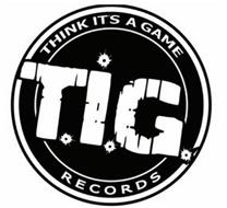 T.I.G THINK IT'S A GAME RECORDS