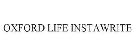 OXFORD LIFE INSTAWRITE
