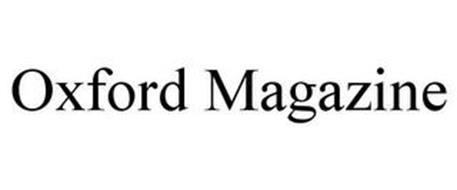 OXFORD MAGAZINE