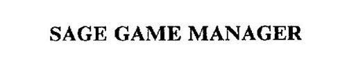 SAGE GAME MANAGER