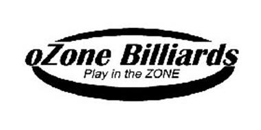 OZONE BILLIARDS PLAY IN THE ZONE