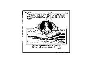 """""""SWEET AFTON"""" """"FLOW GENTLY SWEET AFTON AMONG THY GREEN BROES FLOW GENTLY I'LL SING THE A SONG IN THY PRAISE"""". BURNS"""