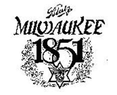 BLATZ MILWAUKEE 1851 B