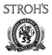 STROH'S TRADITIONAL BREWING HERITAGE SINCE 1775