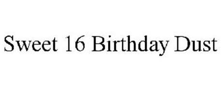 SWEET 16 BIRTHDAY DUST
