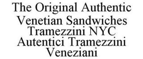 THE ORIGINAL AUTHENTIC VENETIAN SANDWICHES TRAMEZZINI NYC AUTENTICI TRAMEZZINI VENEZIANI