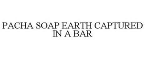 PACHA SOAP EARTH CAPTURED IN A BAR