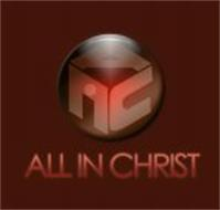 AIC ALL IN CHRIST