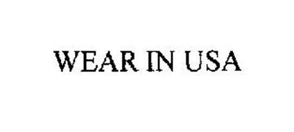 WEAR IN USA