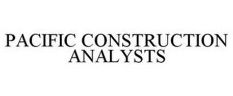 PACIFIC CONSTRUCTION ANALYSTS