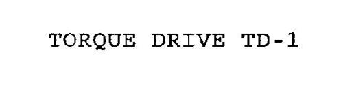 TORQUE DRIVE TD-1