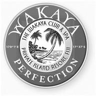 WAKAYA PERFECTION THE WAKAYA CLUB & SPA PRIVATE ISLAND RESORT, FIJI 179°1'E 17°37'S