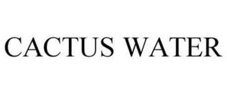 CACTUS WATER