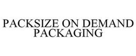 PACKSIZE ON DEMAND PACKAGING