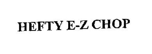 HEFTY E-Z CHOP