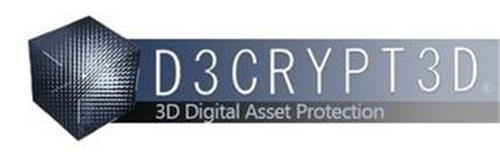 D3CRYPT3D 3D DIGITAL ASSET PROTECTION