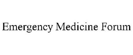 EMERGENCY MEDICINE FORUM