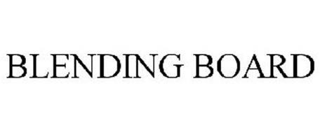 BLENDING BOARD