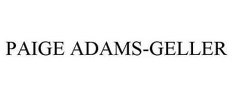 PAIGE ADAMS-GELLER