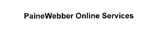 PAINEWEBBER ONLINE SERVICES