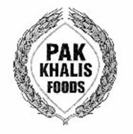 PAK KHALIS FOODS