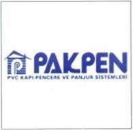 P PAKPEN PVC KAPI-PENCERE VE PANJUR SISTEMLERI