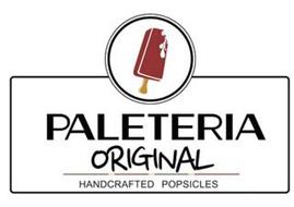 PALETERIA ORIGINAL HANDCRAFTED POPSICLES