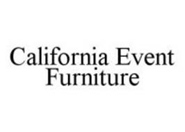 CALIFORNIA EVENT FURNITURE