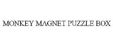MONKEY MAGNET PUZZLE BOX