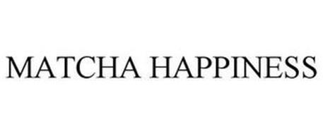 MATCHA HAPPINESS
