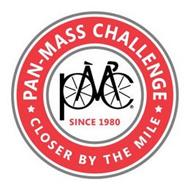 PAN-MASS CHALLENGE CLOSER BY THE MILE SINCE 1980 PMC