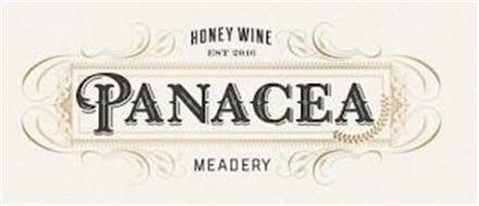 HONEY WINE EST 2016 PANACEA MEADERY