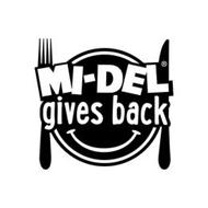 MI-DEL GIVES BACK
