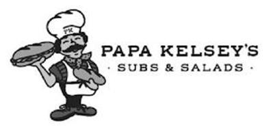 PAPA KELSEY'S · SUBS & SALADS · PK