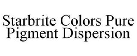 STARBRITE COLORS PURE PIGMENT DISPERSION