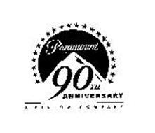 PARAMOUNT 90TH ANNIVERSARY A VIACOM COMPANY