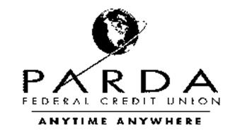 PARDA FEDERAL CREDIT UNION ANYTIME ANYWHERE