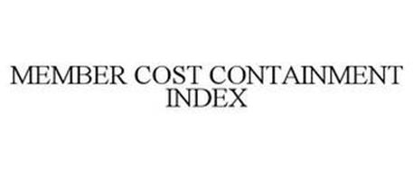 MEMBER COST CONTAINMENT INDEX