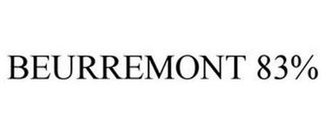 BEURREMONT 83%