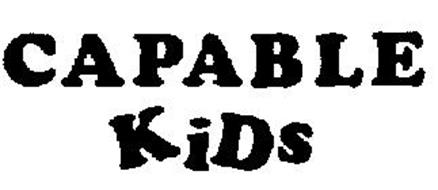 CAPABLE KIDS