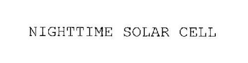 NIGHTTIME SOLAR CELL
