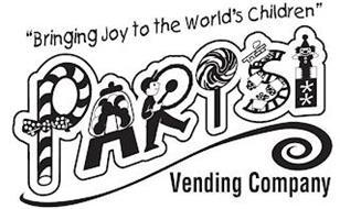 """BRINGING JOY TO THE WORLD'S CHILDREN"" PARISI VENDING COMPANY"