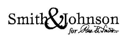 SMITH & JOHNSON FOR PARK B. SMITH LTD.