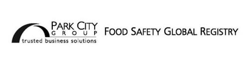 PARK CITY GROUP TRUSTED BUSINESS SOLUTIONS FOOD SAFETY GLOBAL REGISTRY