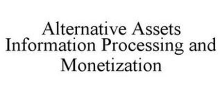 ALTERNATIVE ASSETS INFORMATION PROCESSING AND MONETIZATION